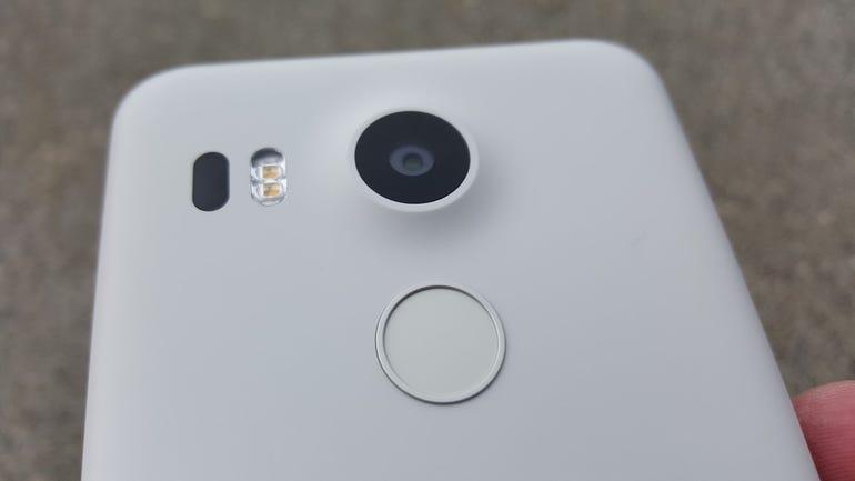 Camera and fingerprint sensor