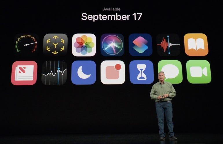 iOS 12 availability