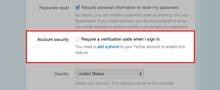 Twitter steps up security with two-factor authentication option