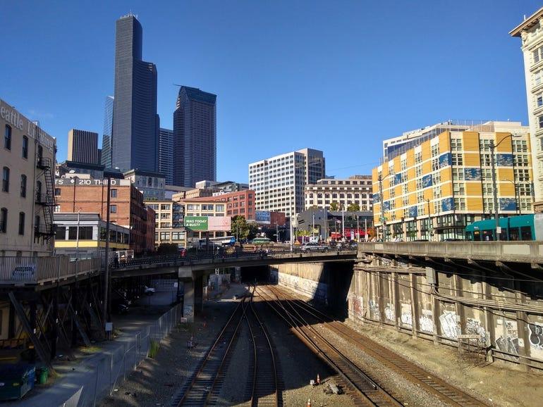 Seattle city shot