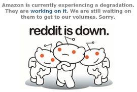 Social news website reddit has experienced problems due to EC2 failures