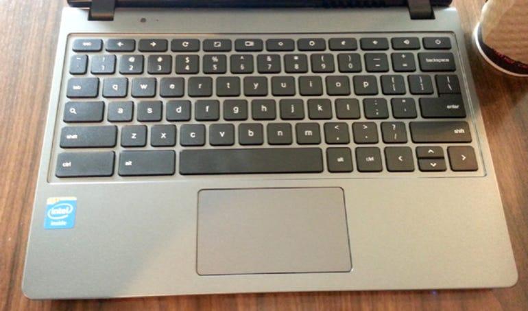 Acer C720 Chromebook keyboard