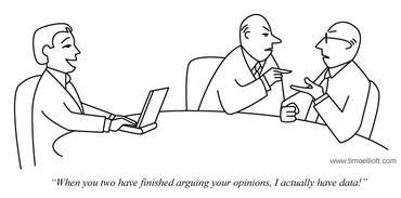 I have data cartoon