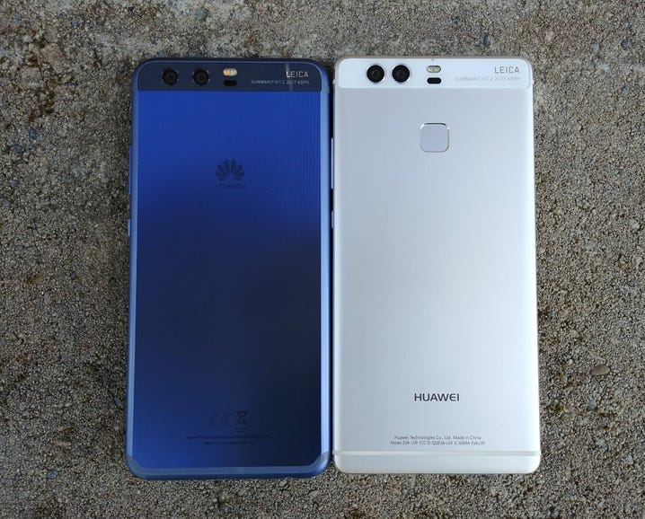 Huawei P10 and P9 back