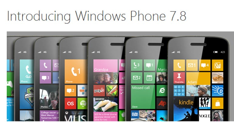 introducing winphone78