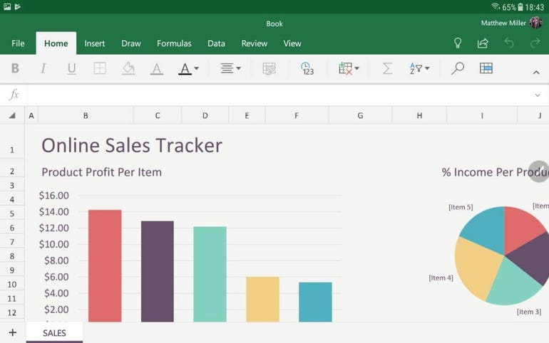 Using Excel on the Active2