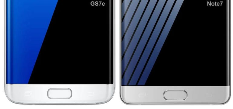 Galaxy Note 7 vs Galaxy S7 Edge