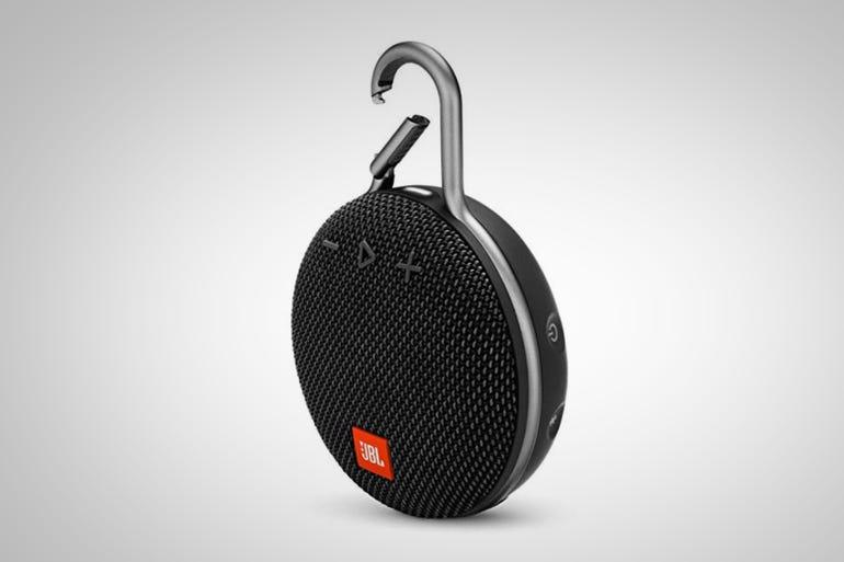 JBL Clip 3 Bluetooth Speaker (around $50)