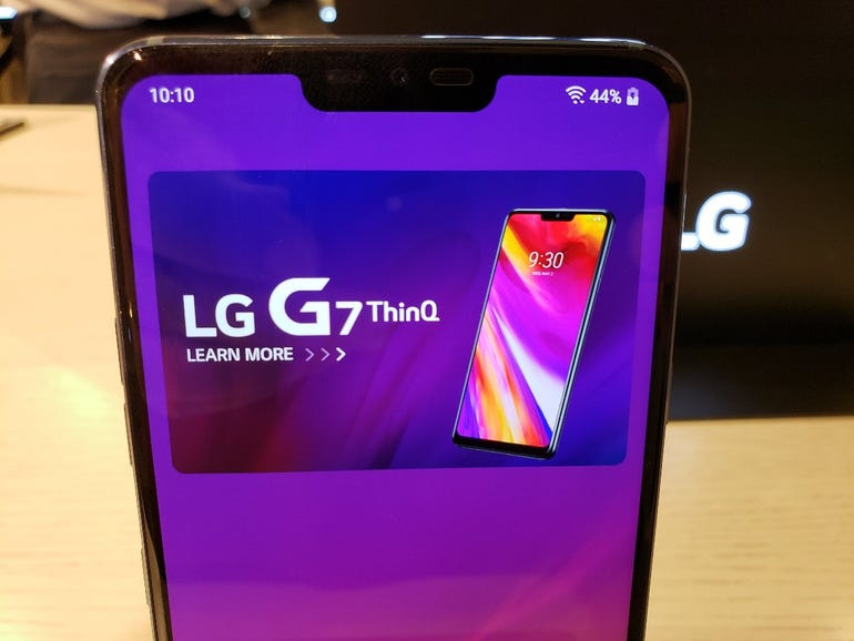 G7 ThinQ with notch enabled