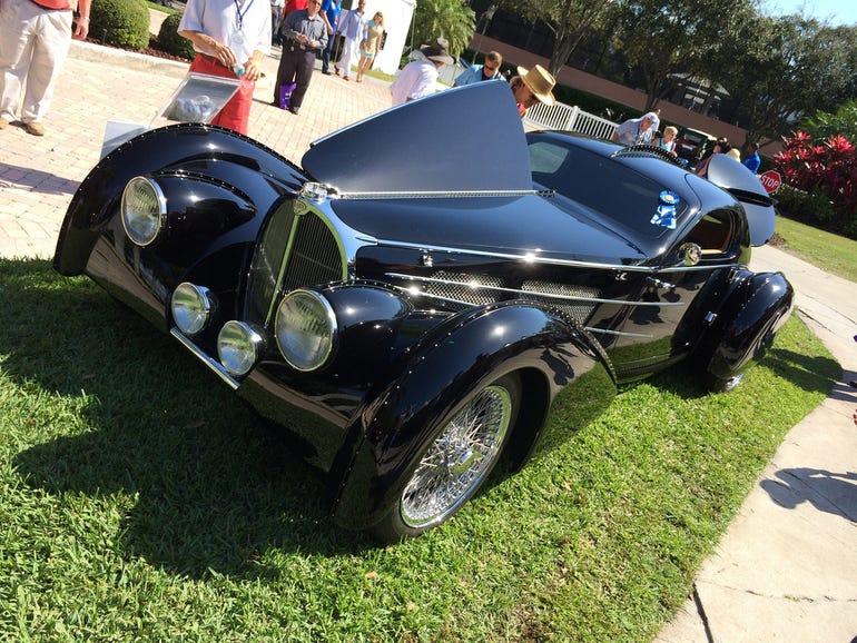 Classic Delahaye Type 135 Roadster