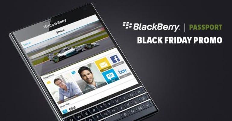 BlackBerry Black Friday promo offers $200 off an unlocked Passport