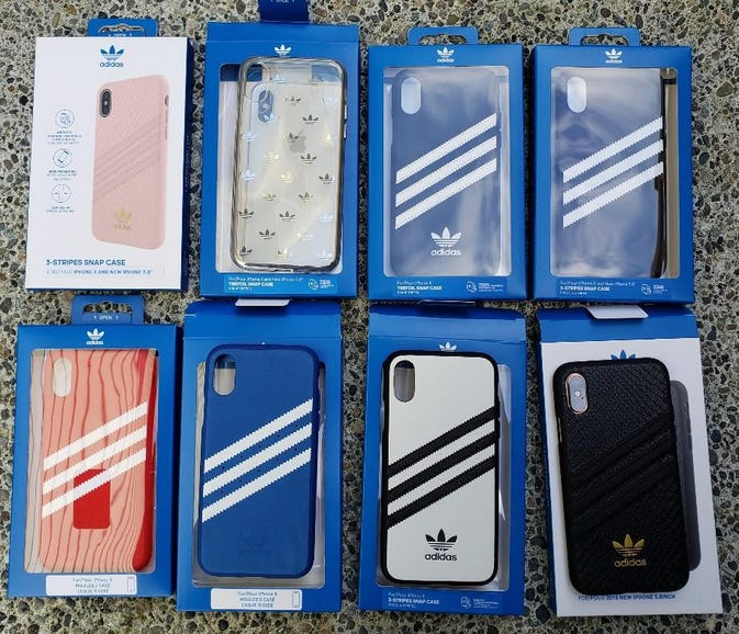 adidas Originals winter 2018 collection for Apple iPhone XS