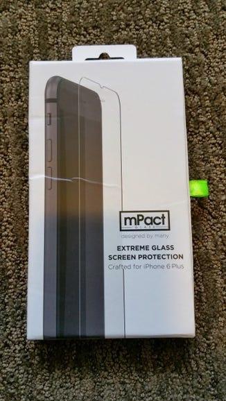 mPact Glass screen protector