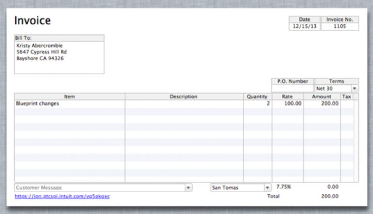 QuickBooks 2013 for Mac includes Freshbooks-like online payment acceptance