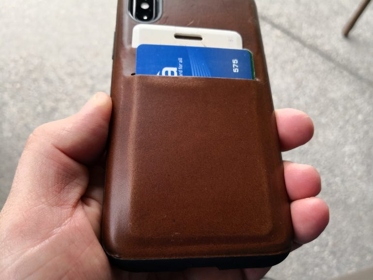 Lower back of the Wallet Case