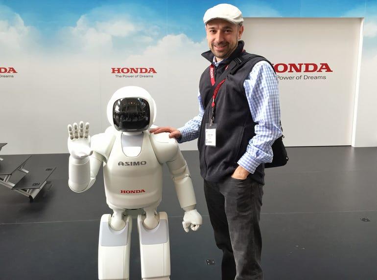 Honda ASIMO, humanoid robot