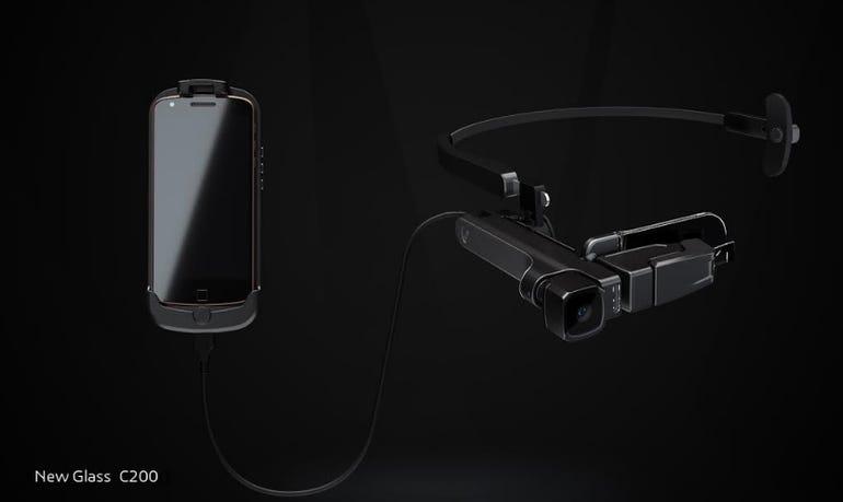 Lenovo's New Glass C200 Glass Unit and Pocket Unit