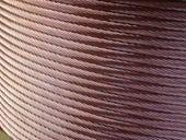 Copper wire. http://commons.wikimedia.org/wiki/File:Treccia_di_rame_-_Foto_di_Giovanni_Dall'Orto.jpg