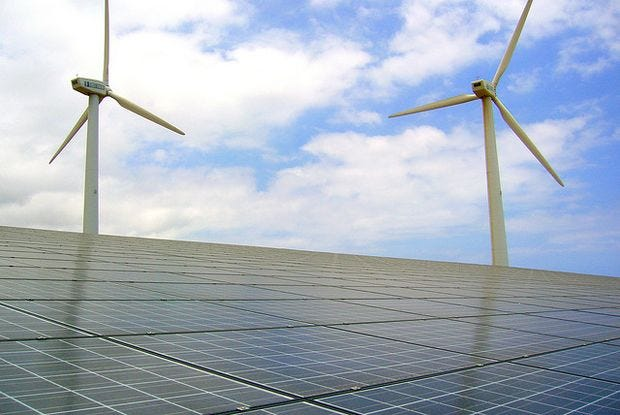 Prelude: The world's most energy sustainable countries