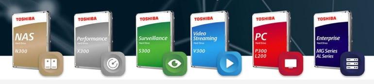 Toshiba hard drive colour codes