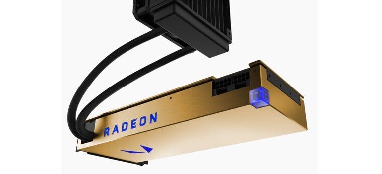 Water-cooled AMD Radeon Vega Frontier
