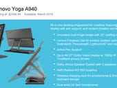 Lenovo launches the Yoga A940 to give Microsoft's Surface Studio 2 some competition for creative pros