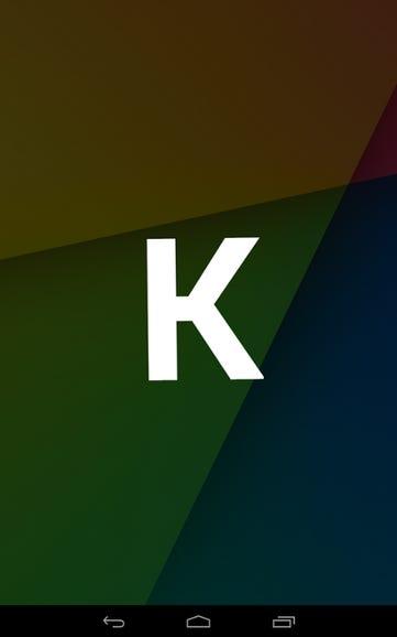 K for KitKat