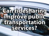 Can ridesharing improve public transportation services?