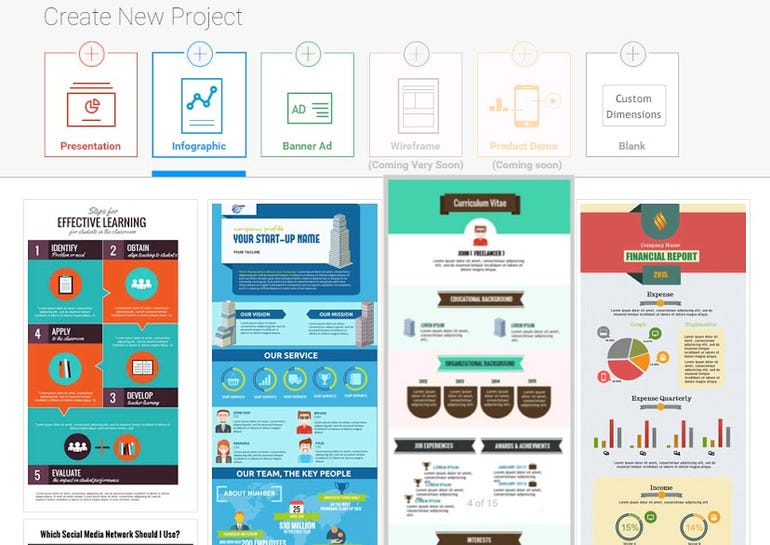 Visme: Presentation and Story Telling Simplified ZDNet