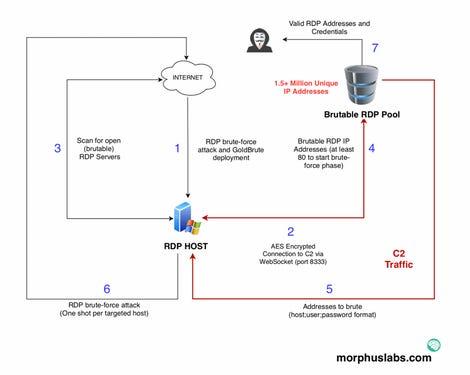 GoldBrute diagram