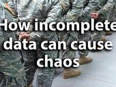 What happens when a lethal autonomous weapon relies on an incomplete dataset?