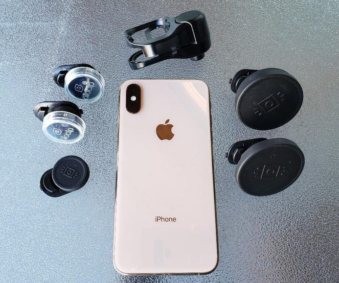 Olloclip Apple iPhone XS Clip and Connect X lenses
