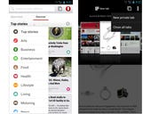Opera for Android loses beta tag, adds new text flow option