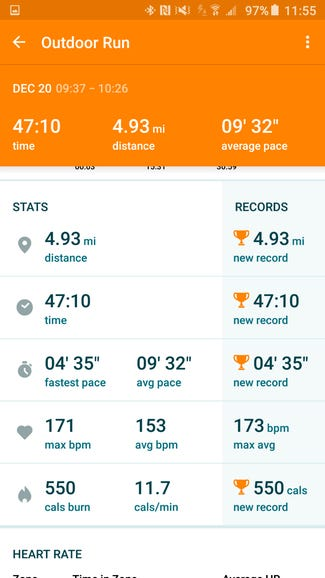 Stats and records