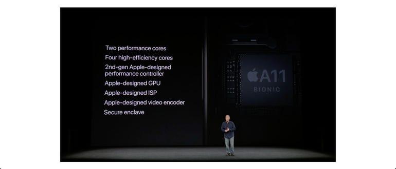 Apple A11 Bionic processor