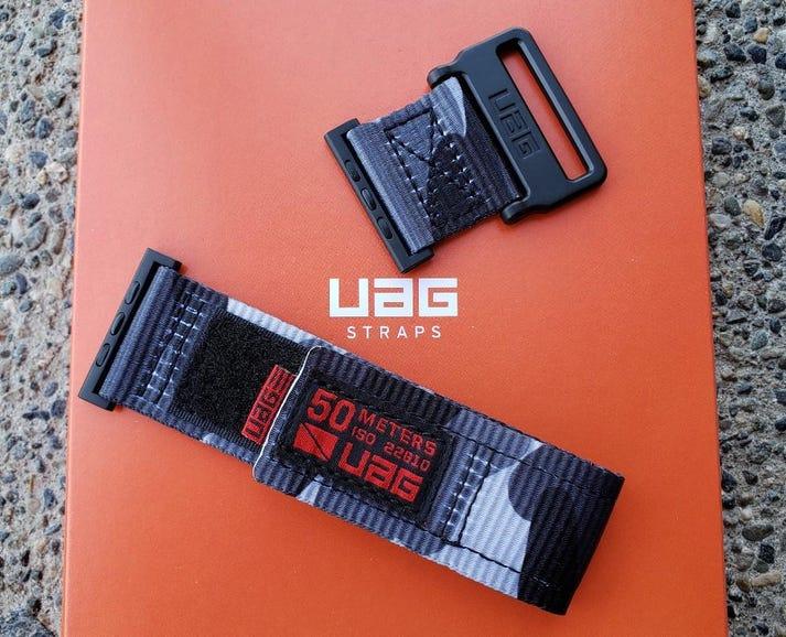 UAG Active Watch strap in midnight