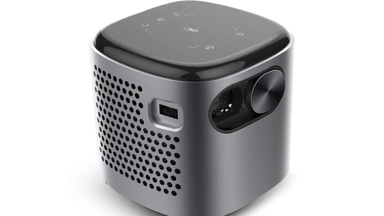 XDO Pantera Pico projector review pocket-sized battery powered projector for broadcasting your screen anywhere zdnet