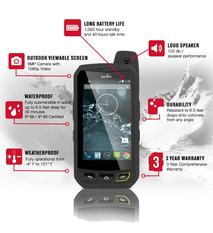 Sonim launches XP7 rugged Android smartphone campaign for outdoor enthusiasts