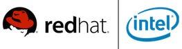 red hat intel multiplexer logo