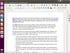 LibreOffice on Ubuntu
