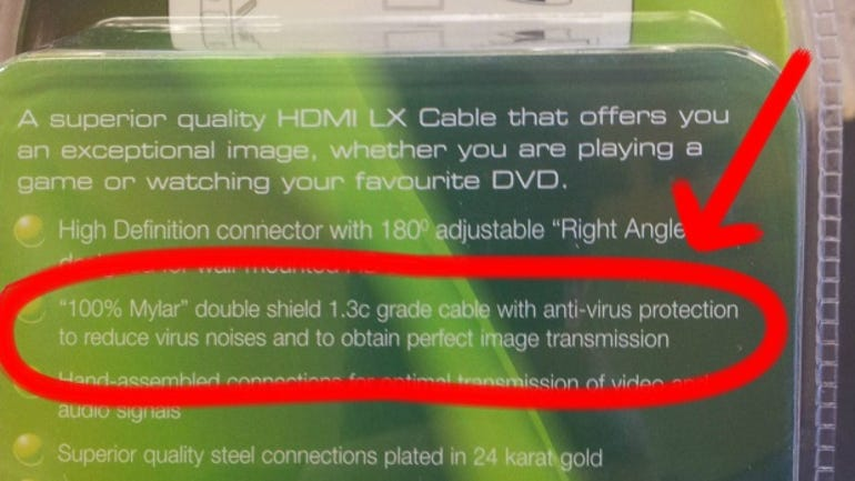 This Xbox HDMI cable has 'anti-virus protection'