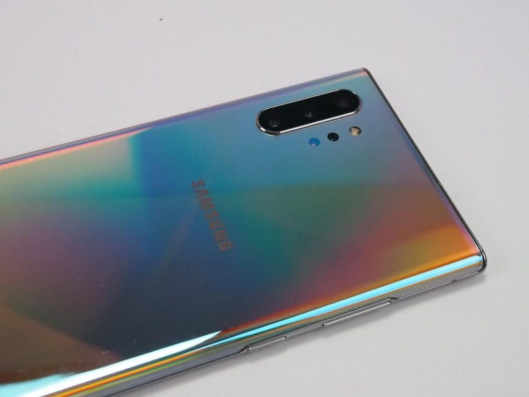 Aura Glow back of the Note 10 Plus