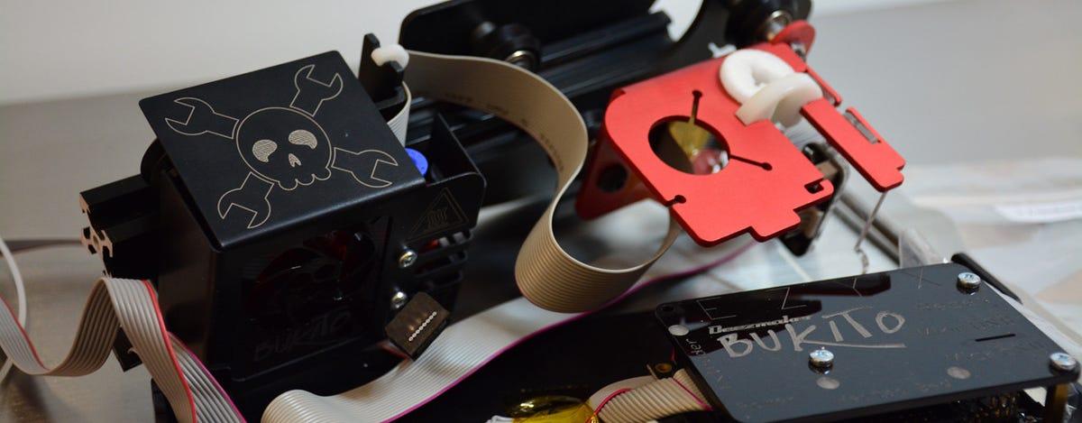 Bukito 3D portable