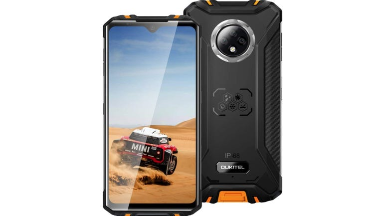 Oukitel WP8 Pro phone review slimline and rugged with a great battery life zdnet
