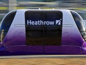 London trades airport shuttles for pod cars