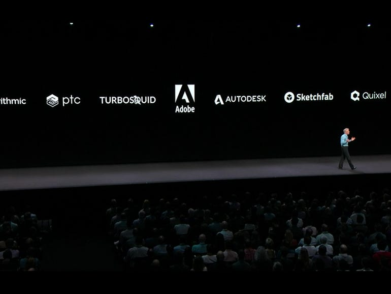 iOS 12: USDZ partners include...