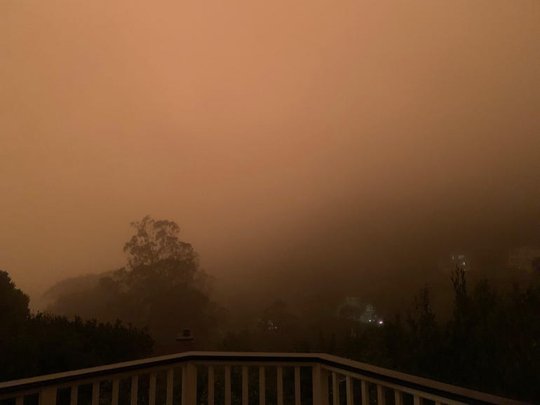 I tried to photograph the apocalypse, but my iPhone wouldn't let me   ZDNet