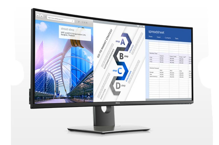 Dell's curved 34-inch U3415W monitor