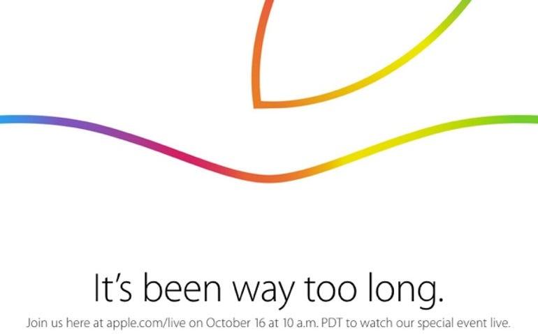 Apple October 16 event