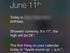 Redesigned notification center